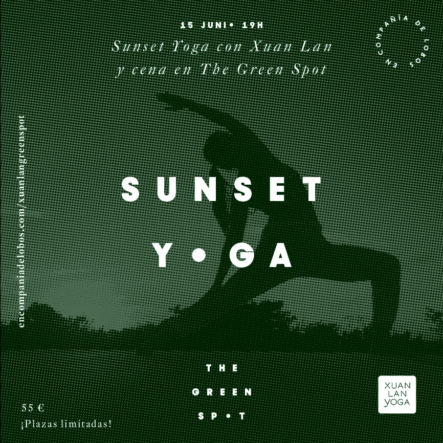 Sunset Yoga con Xuan Lan en The Green Spot